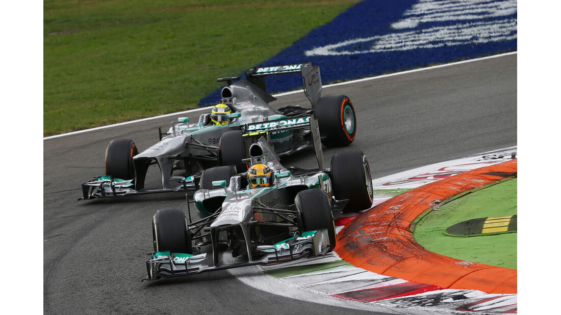 Mercedes - Formel 1 - GP Italien 2013