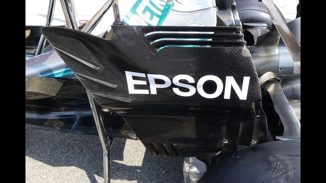 Mercedes - Formel 1 - GP Italien - 30. August 2018