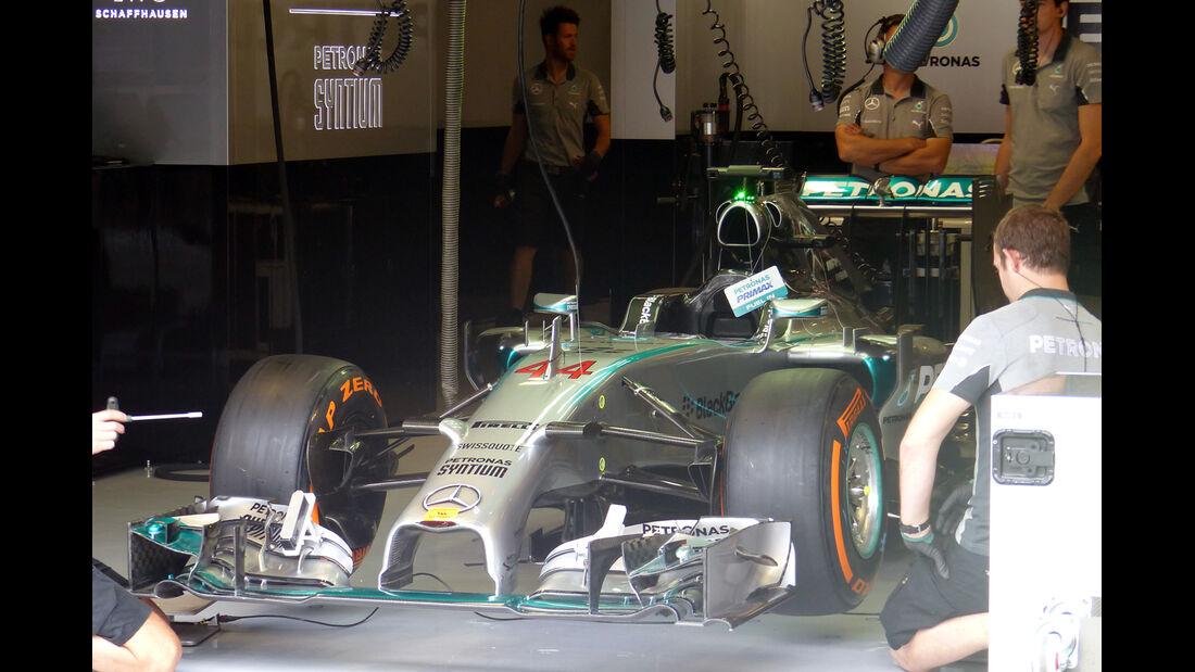 Mercedes - Formel 1 - GP Italien - 5. September 2014