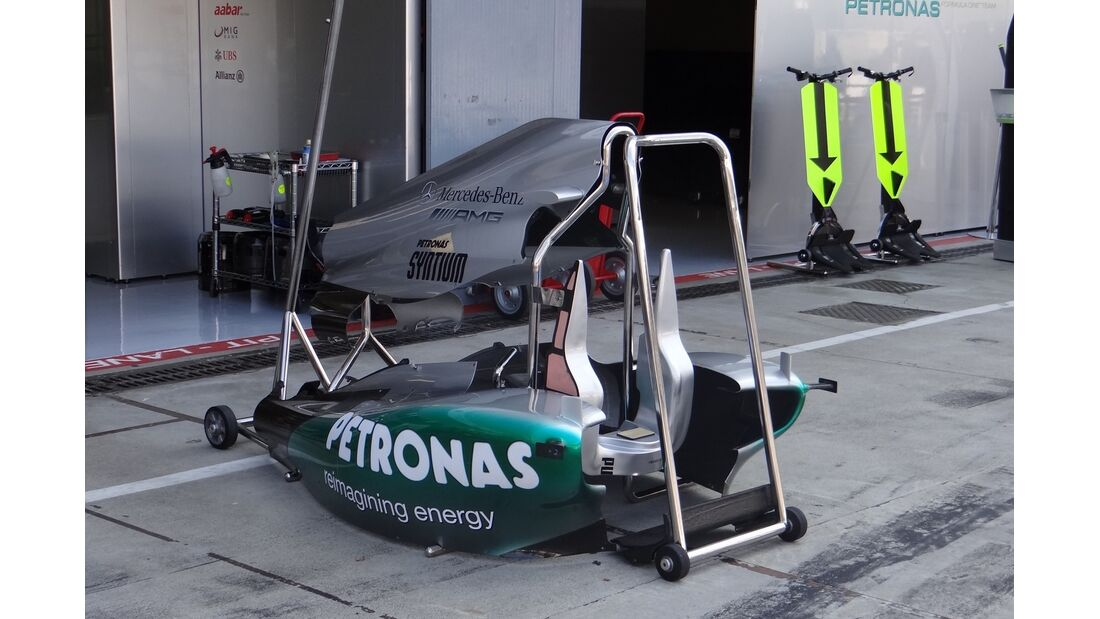Mercedes - Formel 1 - GP Italien - 6. September 2012