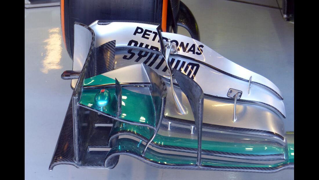 Mercedes  - Formel 1 - GP Italien - 6. September 2014