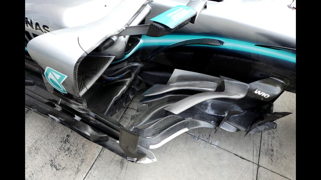 Mercedes - Formel 1 - GP Italien - Monza - 5. September 2019