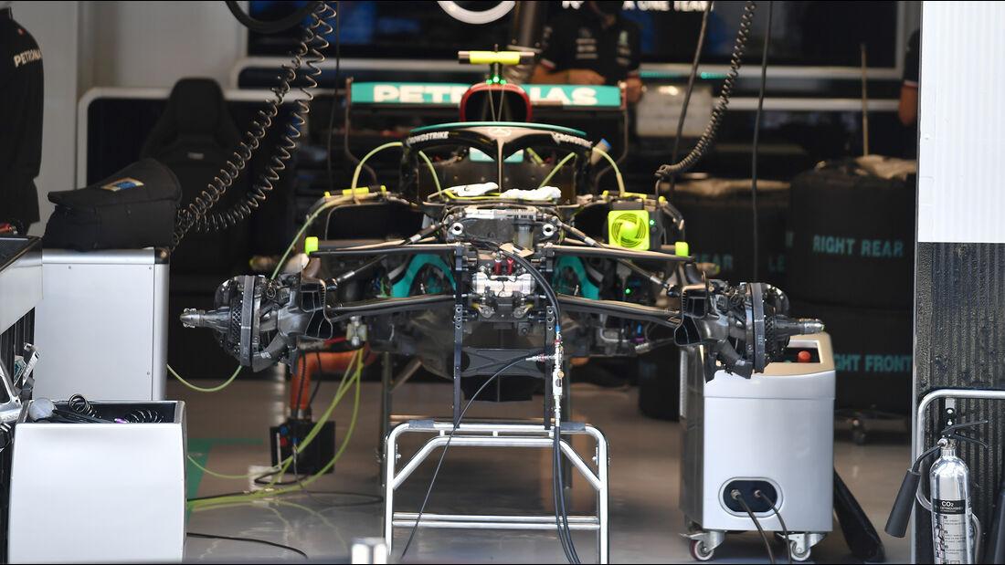 Mercedes - Formel 1 - GP Italien - Monza - 9. September  2021
