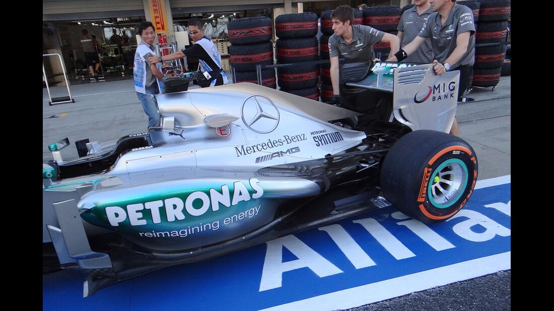 Mercedes - Formel 1 - GP Japan - 10. Oktober 2013