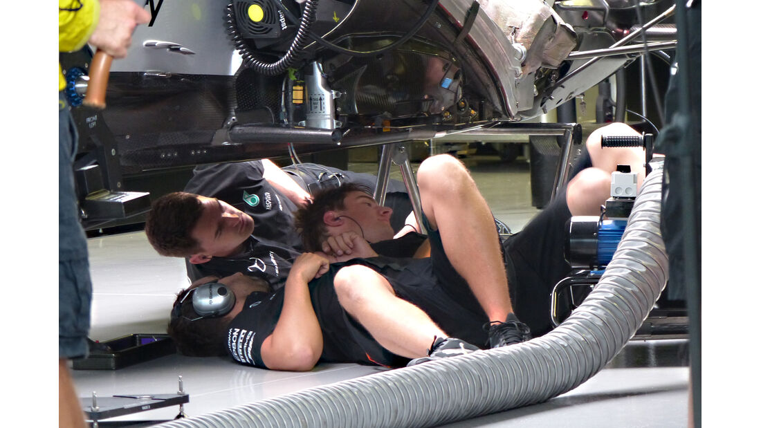 Mercedes - Formel 1 - GP Japan - Suzuka - 24. September 2015