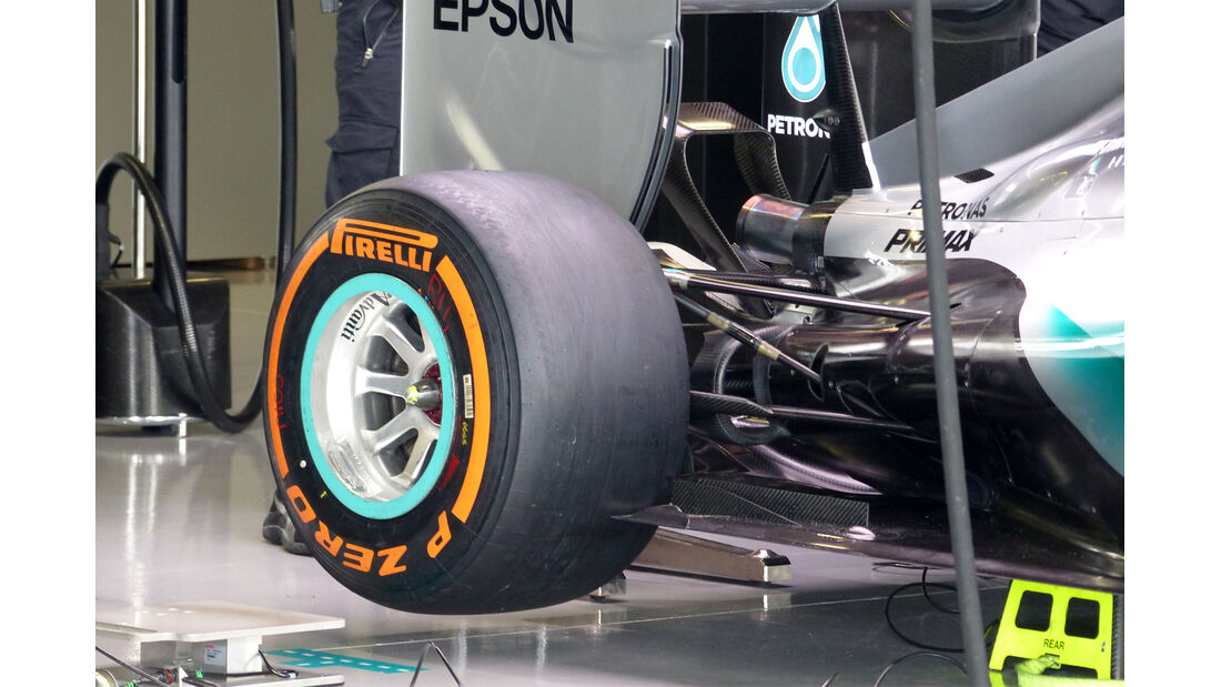 Mercedes - Formel 1 - GP Japan - Suzuka - 26. September 2015