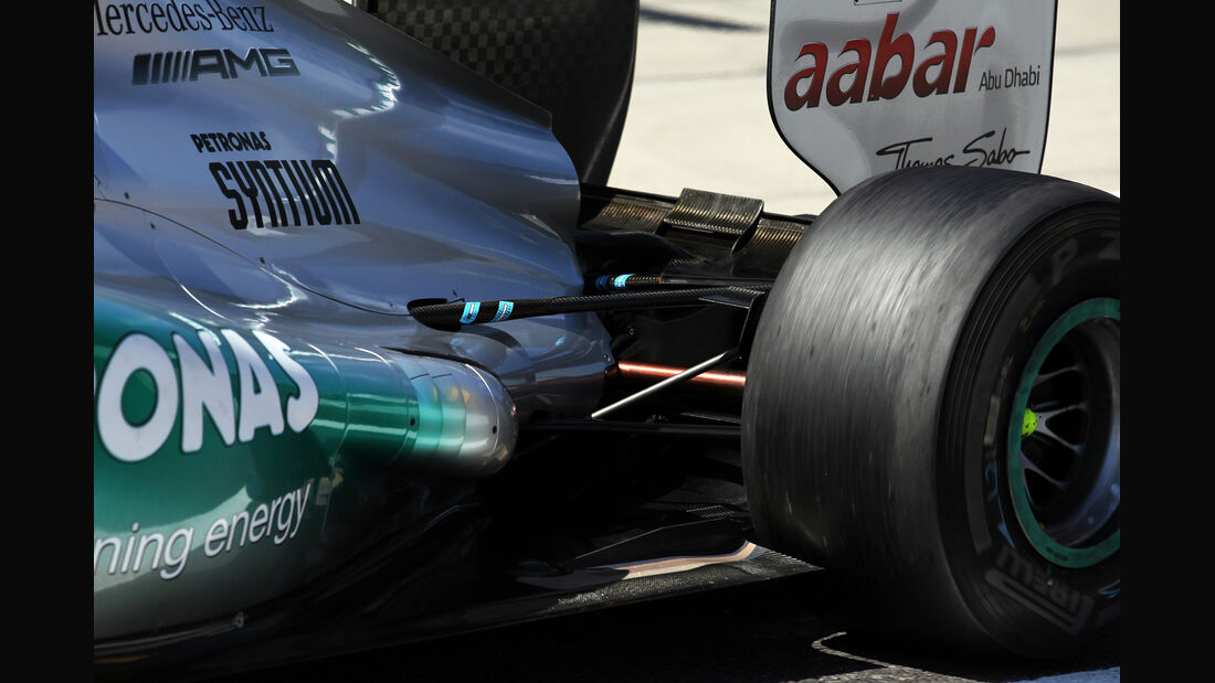 Mercedes - Formel 1 - GP Japan - Suzuka - 5. Oktober 2012