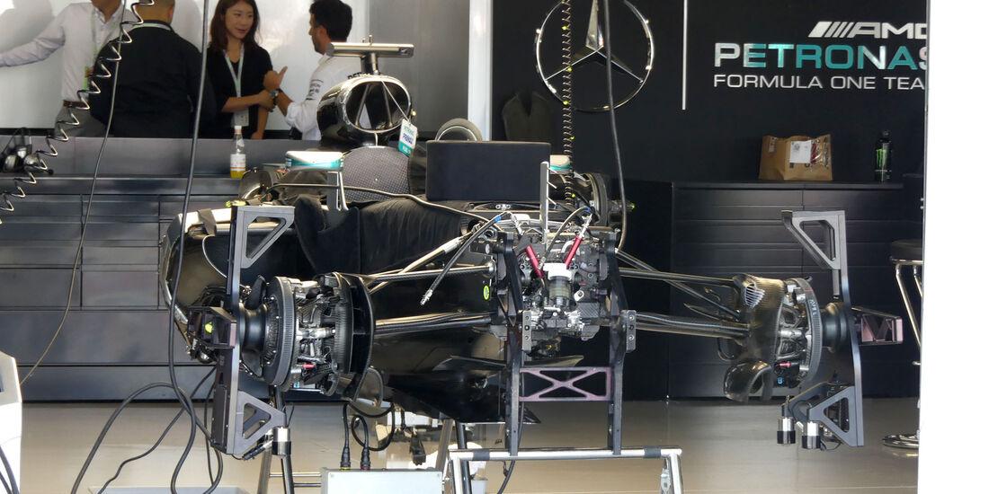 Mercedes - Formel 1 - GP Japan - Suzuka - Donnerstag - 6.10.2016