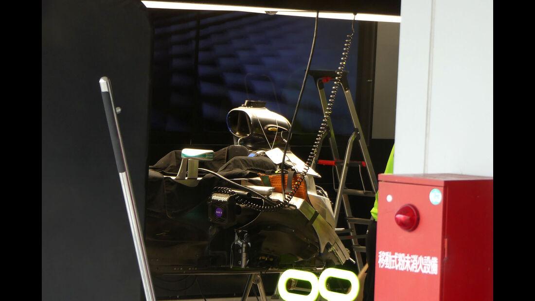 Mercedes - Formel 1 - GP Japan - Suzuka - Mittwoch - 5.10.2016