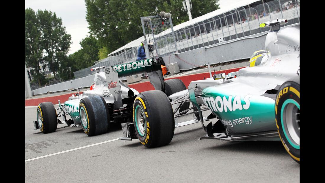 Mercedes - Formel 1 - GP Kanada 2012 - 8. Juni 2012