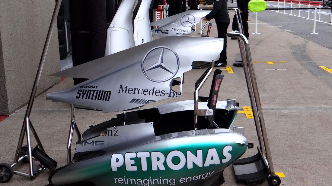 Mercedes - Formel 1 - GP Kanada - 6. Juni 2013