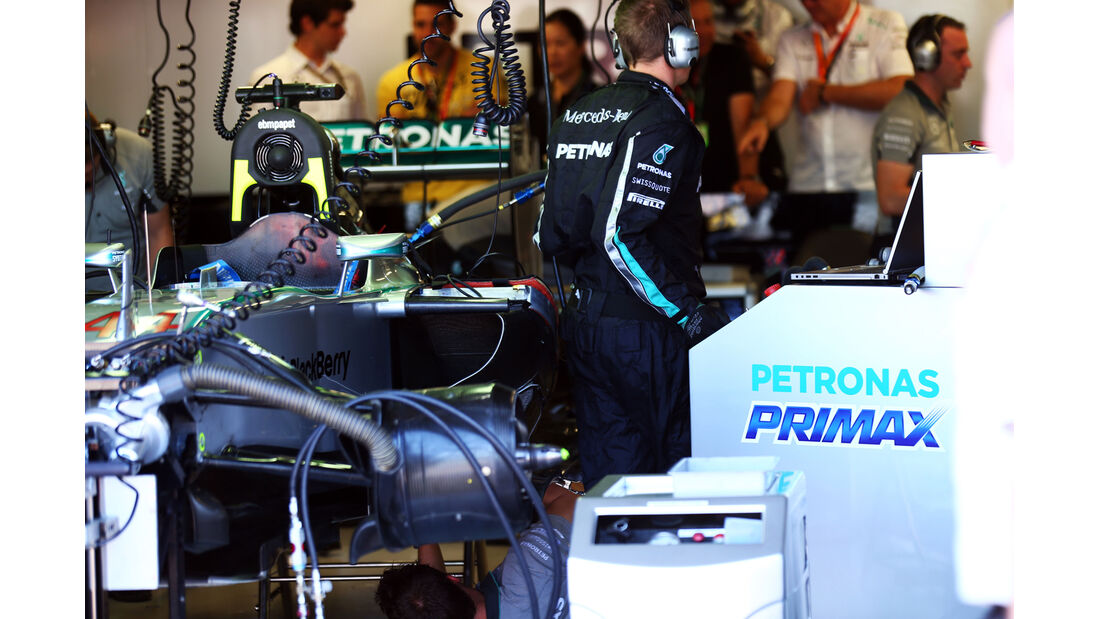 Mercedes - Formel 1 - GP Kanada - Montreal - 7. Juni 2014