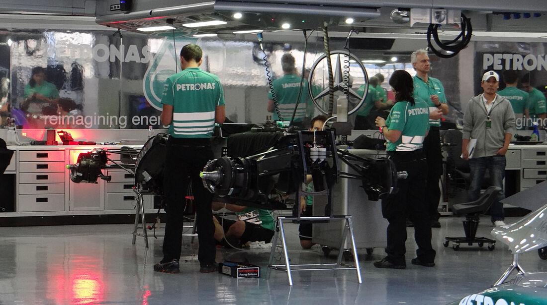 Mercedes - Formel 1 - GP Korea - 2. Oktober 2013