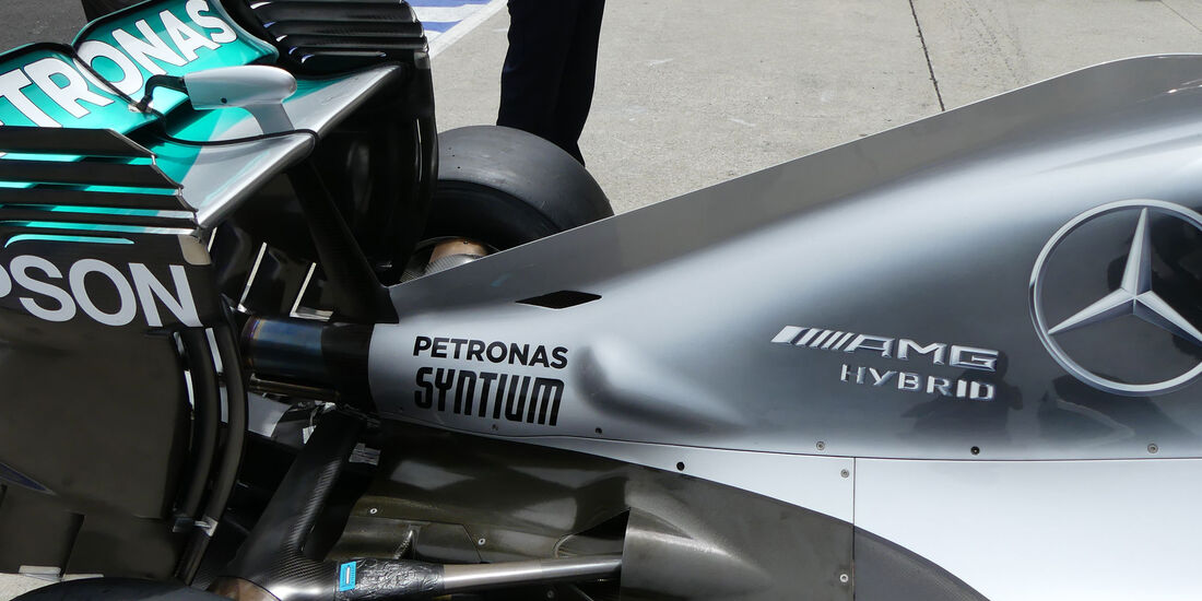 Mercedes - Formel 1 - GP Malaysia - Donnerstag - 29.9.2016