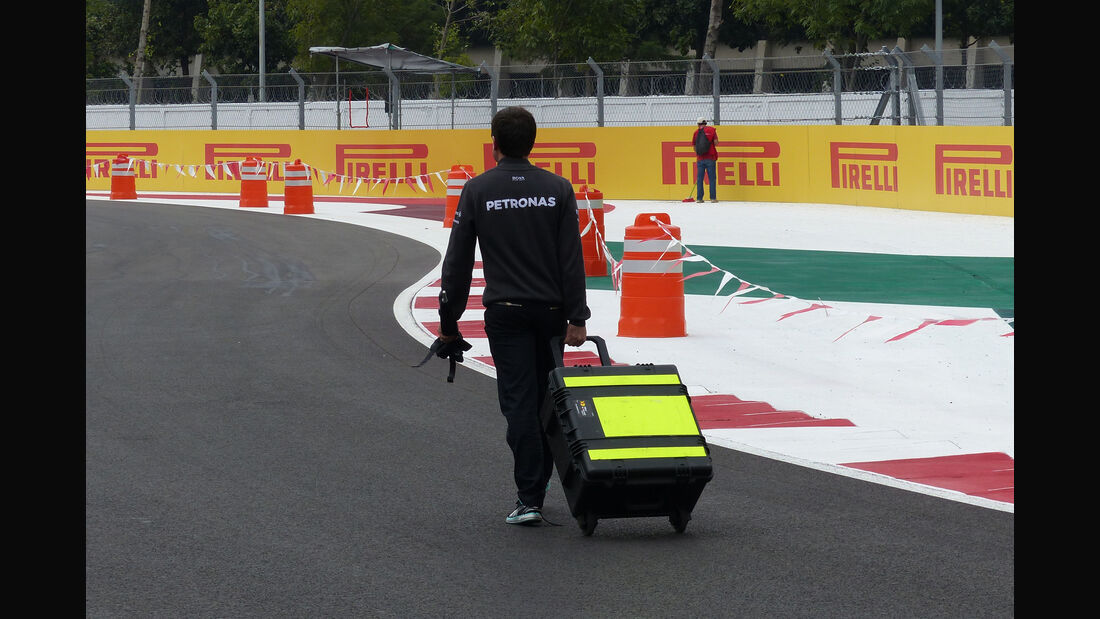 Mercedes - Formel 1 - GP Mexico - 28. Oktober 2015