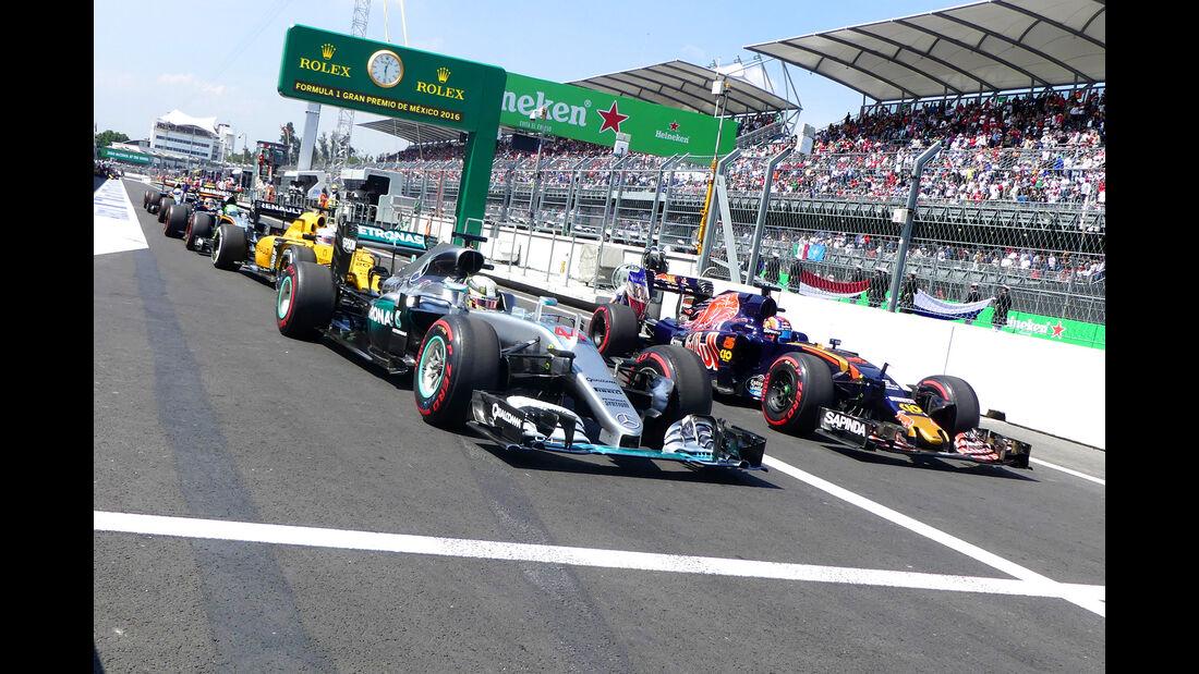 Mercedes - Formel 1 - GP Mexiko 2016