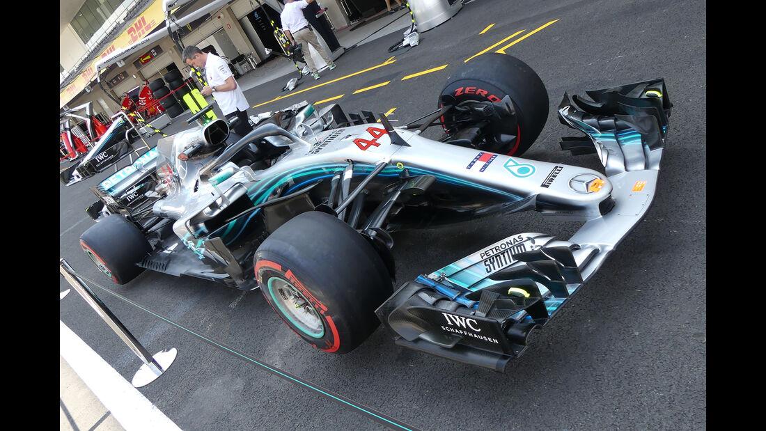 Mercedes - Formel 1 - GP Mexiko - 25. Oktober 2018