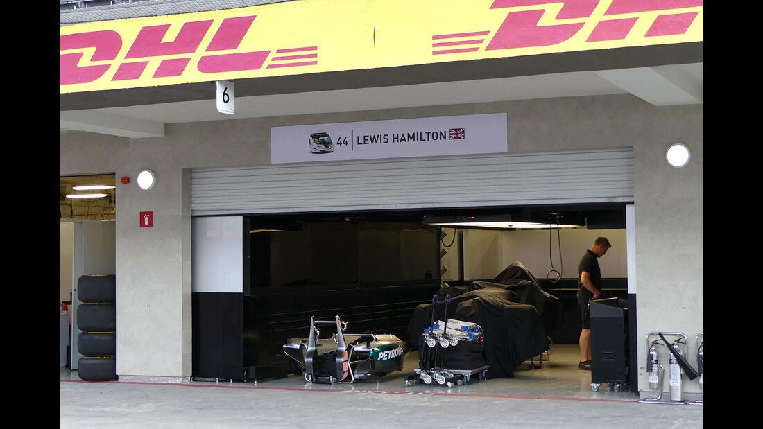 Mercedes - Formel 1 - GP Mexiko - 26. Oktober 2016