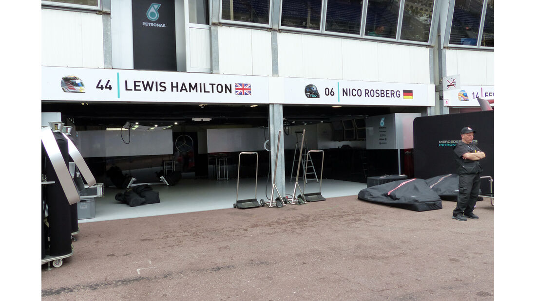 Mercedes - Formel 1 - GP Monaco - 20. Mai 2014