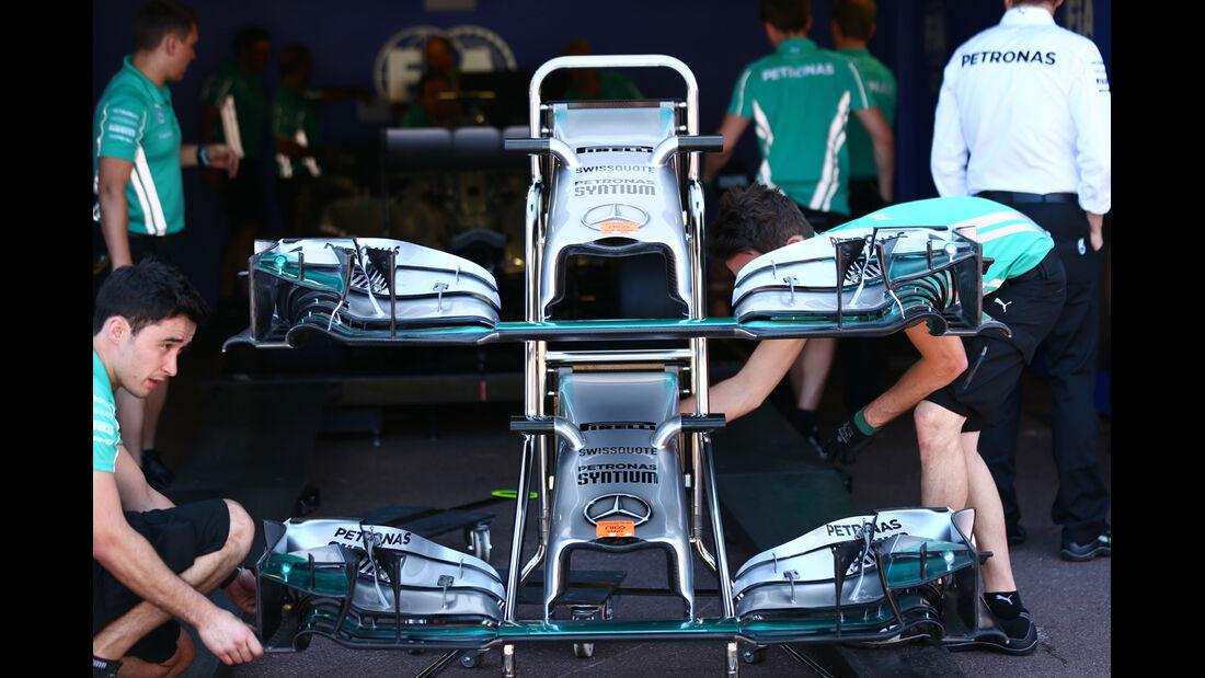 Mercedes - Formel 1 - GP Monaco 2014