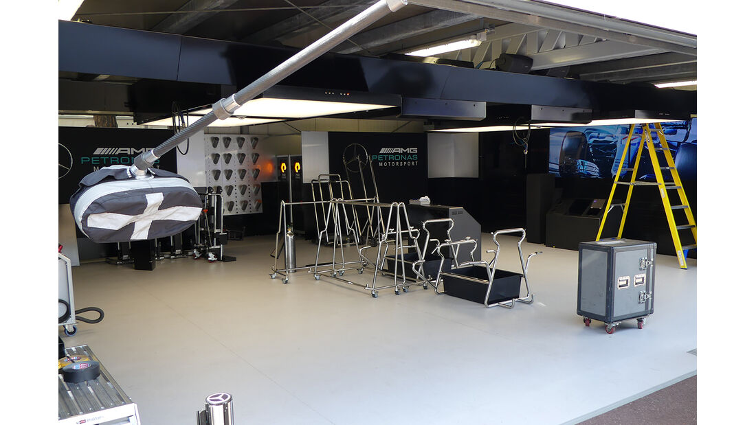 Mercedes - Formel 1 - GP Monaco - 23. Mai 2017