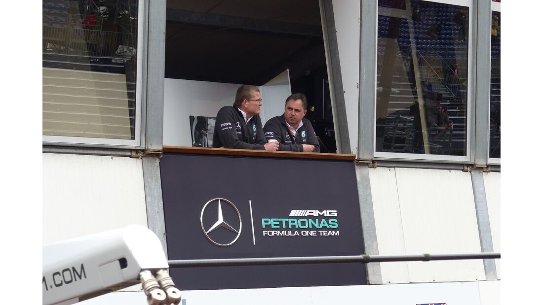 Mercedes  - Formel 1 - GP Monaco - Donnerstag - 21. Mai 2015
