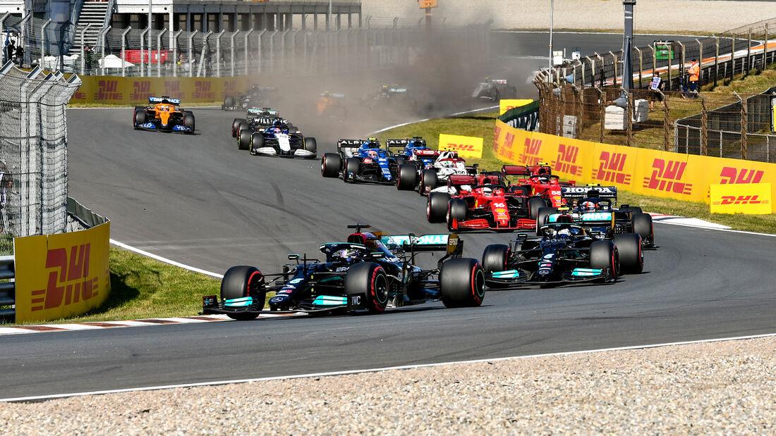Mercedes - Formel 1 - GP Niederlande - Zandvoort - 2021