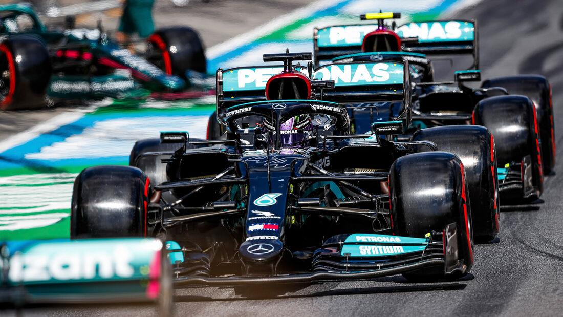 Mercedes - Formel 1 - GP Österreich 2021