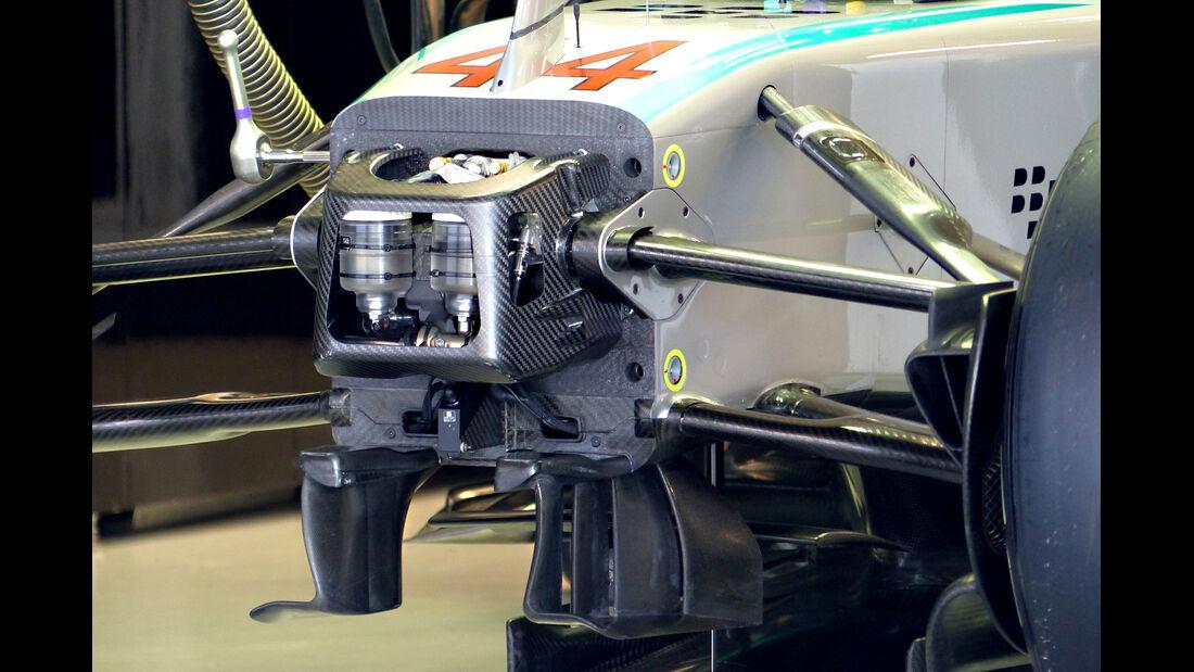 Mercedes - Formel 1 - GP Russland - 10. Oktober 2014