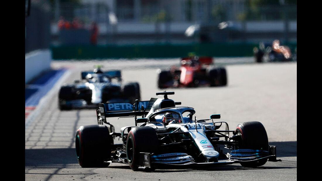 Mercedes - Formel 1 - GP Russland 2019