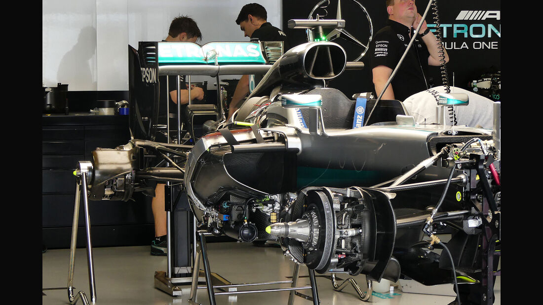 Mercedes - Formel 1 - GP Russland - 29. April 2016