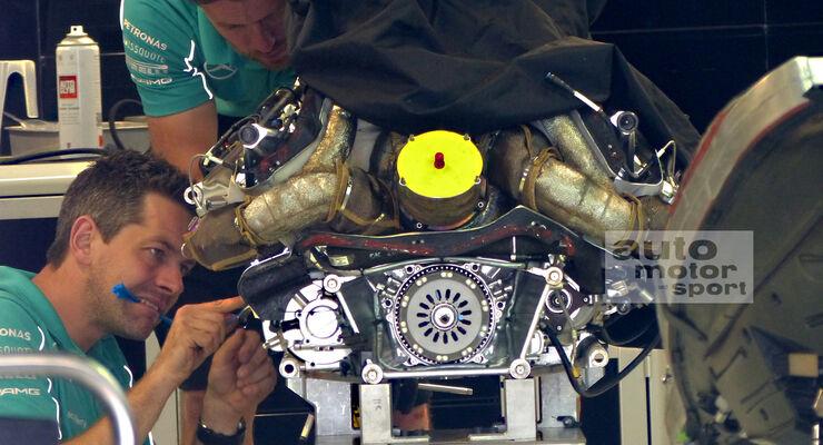 Mercedes - Formel 1 - GP Russland - Sochi - 8. Oktober 2014