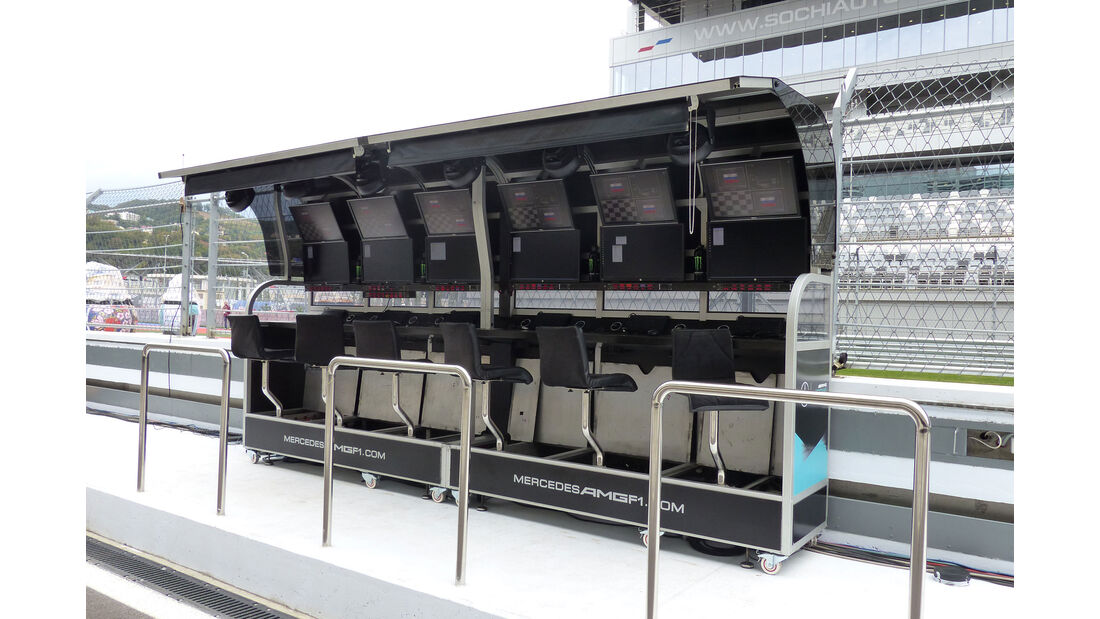 Mercedes - Formel 1 - GP Russland - Sochi - Mittwoch - 7.10.2015