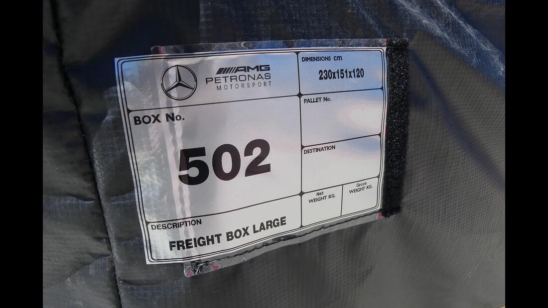 Mercedes - Formel 1 - GP Russland - Sotschi - 26. April 2017