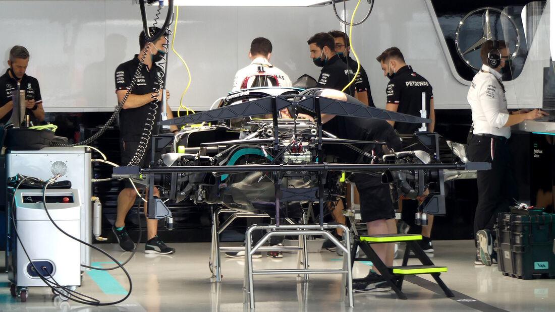 Mercedes - Formel 1 - GP Russland - Sotschi - Donnerstag - 23.09.2021