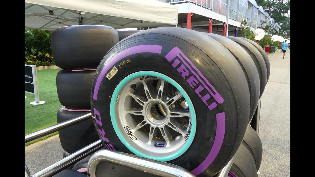 Mercedes - Formel 1 - GP Singapur - 12. September 2018