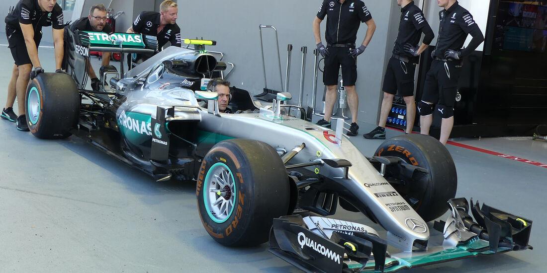 Mercedes - Formel 1 - GP Singapur - 16. September 2016