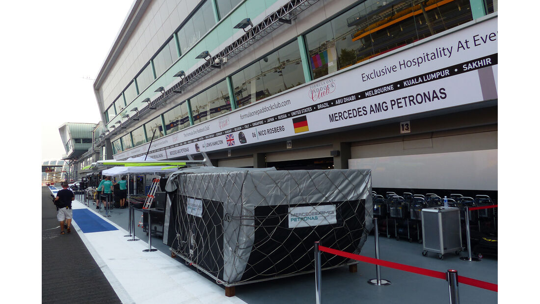 Mercedes - Formel 1 - GP Singapur - 17. September 2014