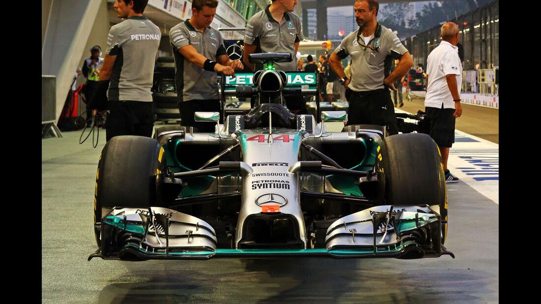 Mercedes - Formel 1 - GP Singapur - 18. September 2014