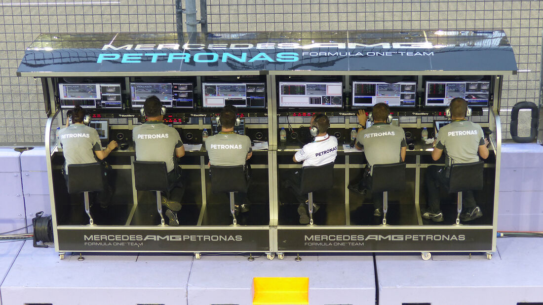 Mercedes - Formel 1 - GP Singapur - 19. September 2014