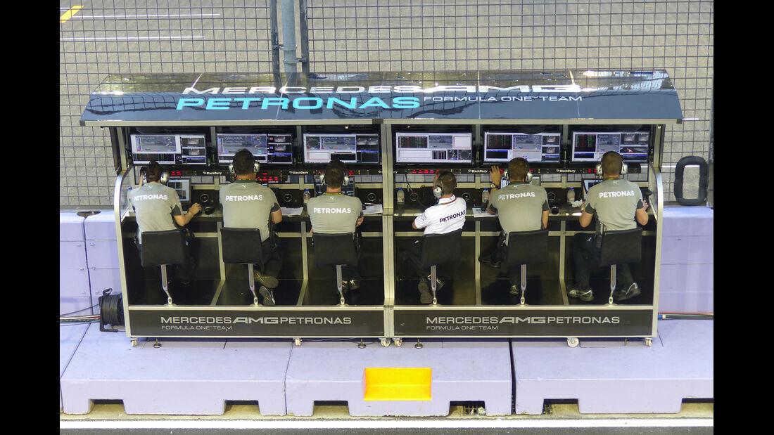 Mercedes - Formel 1 - GP Singapur - 19. September 2014