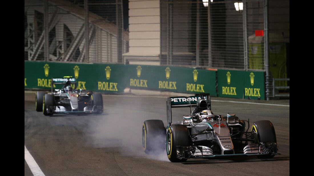 Mercedes - Formel 1 - GP Singapur 2015