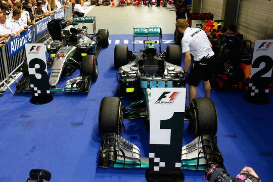 Mercedes - Formel 1 - GP Singapur - 2016