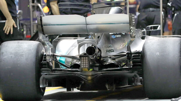 Mercedes - Formel 1 - GP Singapur 2017