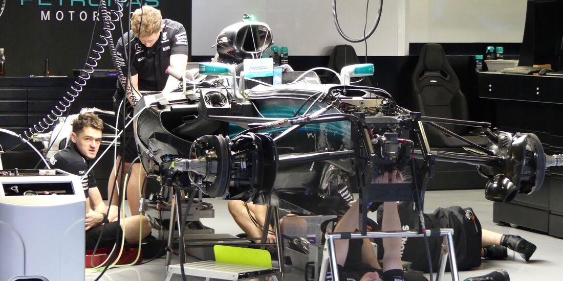 Mercedes - Formel 1 - GP Spanien - 11. Mai 2017