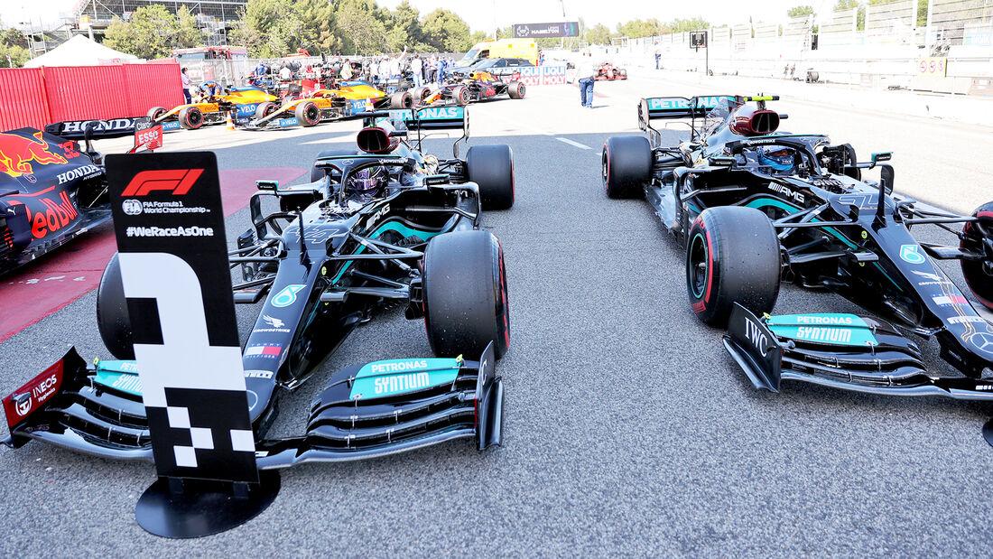 Mercedes - Formel 1 - GP Spanien 2021