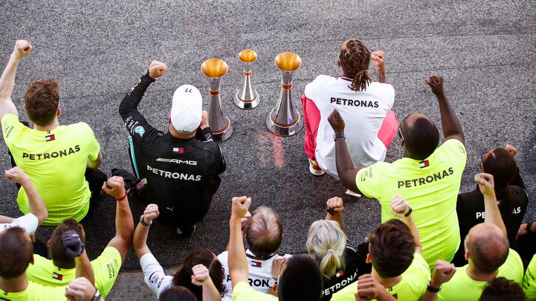 Mercedes - Formel 1 - GP Spanien 2021 - Barcelona - Rennen