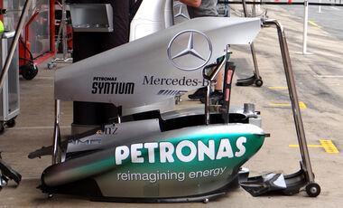 Mercedes - Formel 1 - GP Spanien - 9. Mai 2013