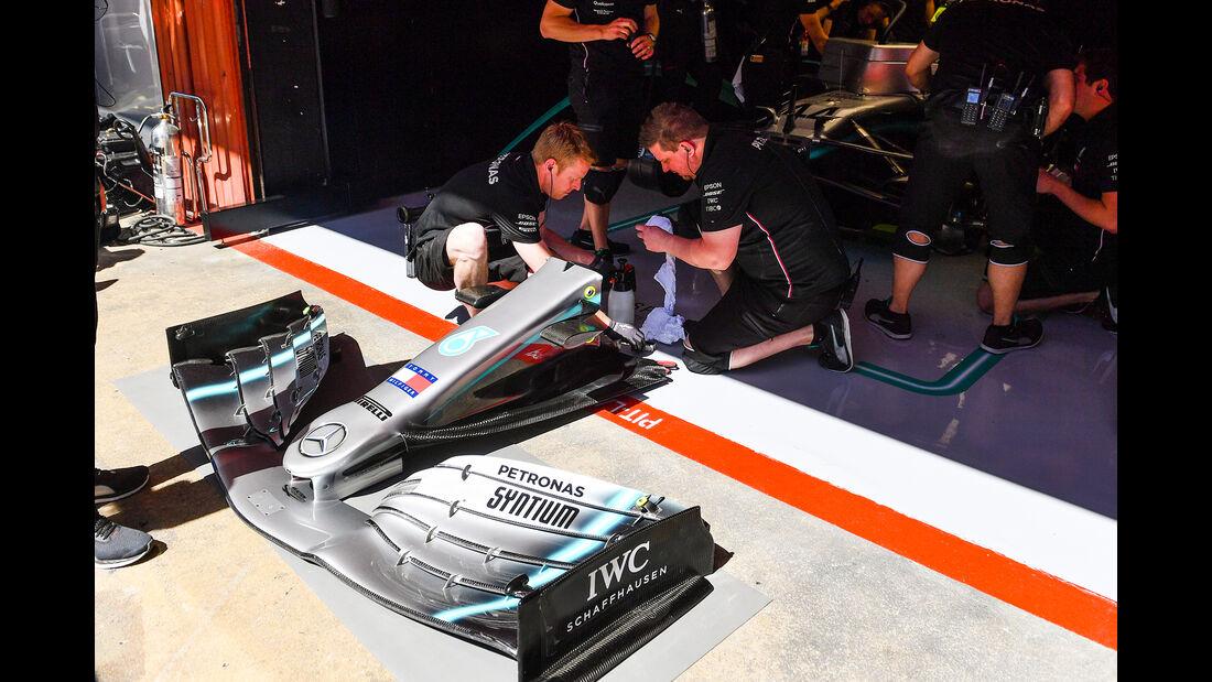 Mercedes - Formel 1 - GP Spanien - Barcelona - 10. Mai 2019
