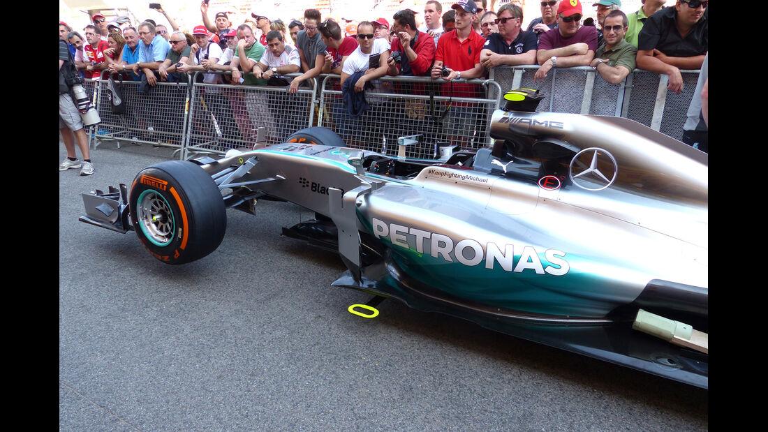 Mercedes - Formel 1 - GP Spanien - Barcelona - 8. Mai 2014